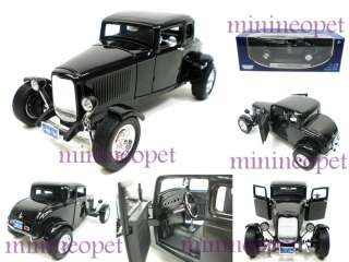 MOTORMAX 1932 32 FORD COUPE 1/18 DIECAST BLACK