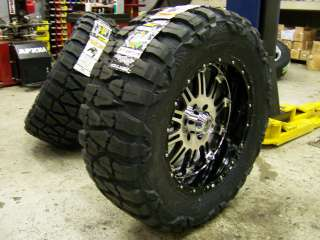 XD Hoss Black Machined 18 Nitto Mud 35x12.50 18 10 Ply