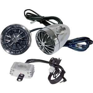 400 Watt Sound System With Dual Speakers Micro Amplifier Car