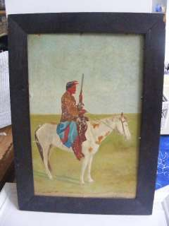 Native American painting by Lobos