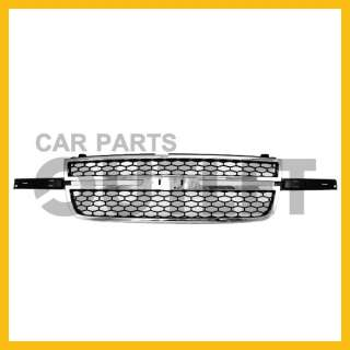 06 07 CHEVY SILVERADO PICKUP TRUCK CHROME/GRAY GRILLE