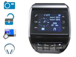 Mobile Watch Phone Dual Card Dual Standby /4 Cam 1GB