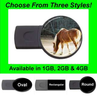 Horse Design #31   USB Flash Memory Drive (Stick/Thumb/Pen)   FD1391