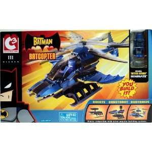 C3 Construction Batcopter with Tactical Batman Minimate Toys & Games