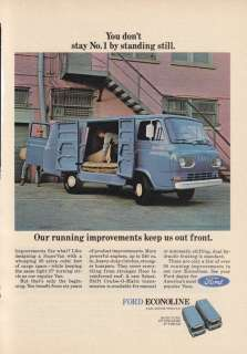 1960s Vintage Advertisement FORD ECONOLINE SUPER VAN
